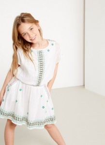 Pepe Jeans London Kleid VALERIA weiß