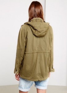 Pepe Jeans London Parka GLORIE JR army
