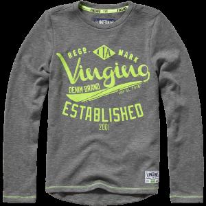 Vingino Langarm-Shirt/Longsleeve Jari clay grey