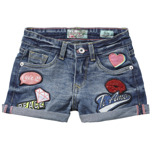 Vingino denim Short DAFNE light indigo
