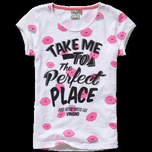 Vingino T-Shirt HEARLY multicolor pink