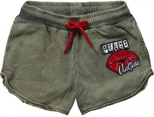 Vingino kurze Sweat-Hose Short RIVA army green