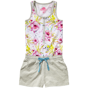 Vingino Schlafanzug/Pyjama/Jumpsuit kurz WODIENTJE sorbet pink