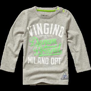 Vingino Mini Jungs Langarm-Shirt JOVAN grey mele