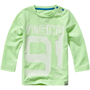 Vingino Mini Jungs Langarm-Shirt JUNEO neon green