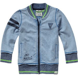 Vingino Mini Jungs Kapuzen-Sweat-Jacke OSMEN dark blue