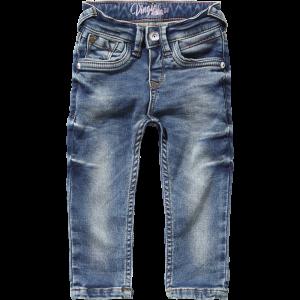 Vingino Mini Mädels Skinny-fit Sweat-Jeans CELINA sea blue