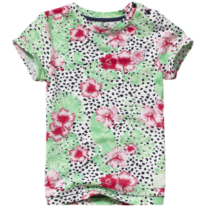 Vingino Mini Mädels T-Shirt INKY multicolor green