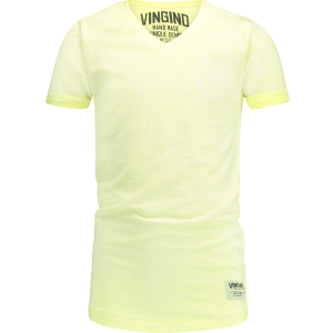 Vingino T-Shirt V-Ausschnitt HELON neon yellow