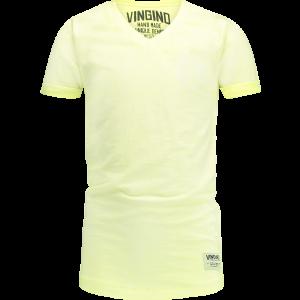 Vingino T-Shirt V-Ausschnitt HELON neon yellow