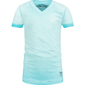 Vingino T-Shirt V-Ausschnitt HELON pacific blue