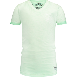 Vingino T-Shirt V-Ausschnitt HELON pale green