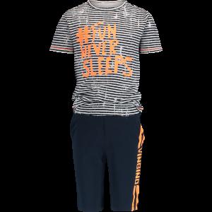 Vingino Schlafanzug/Pyjama kurz WALBY SET dark blue