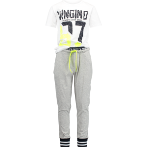 Vingino Schlafanzug/Pyjama WILENCIO SET light grey mele