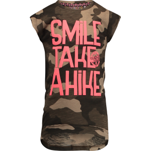 Vingino T-Shirt HANNEMARIE army allover