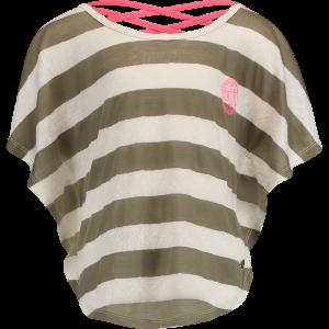 Vingino T-Shirt / Butterfly-Shirt INDRA army moss