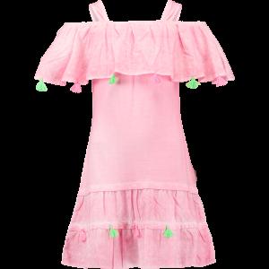 Vingino Off-Shoulder Kleid PEBBIE candy pink