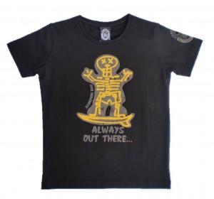 Scorpion Bay T-Shirt schwarz mit Front-Print
