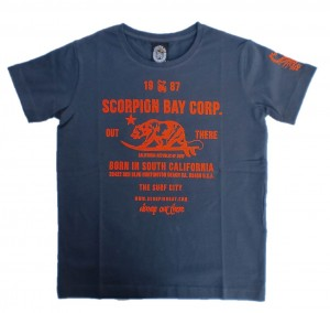 Scorpion Bay T-Shirt navy Front-Print