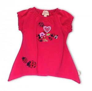 Pezzo D´oro Mini long T-Shirt/Tunika rot