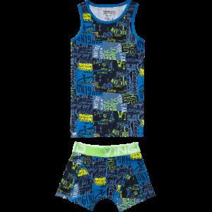 Vingino Boys Set Unterhemd/Tank und Short PATCH