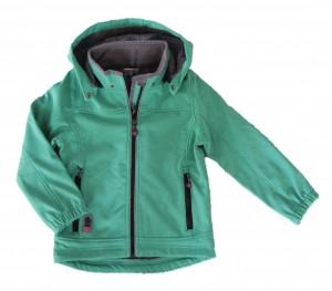 Topo Softshell-Jacke grün