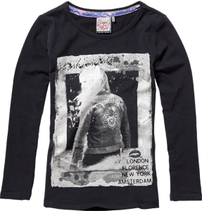 Vingino Langarm-Shirt/Longsleeve KIONA black