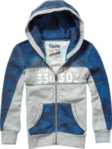 Vingino Kapuzen-Sweat-Jacke ORLAN new blue