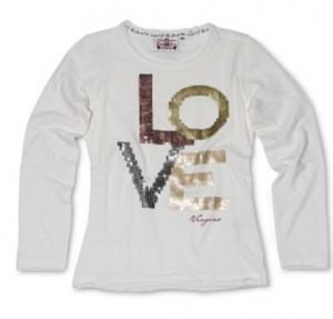 Vingino Langarm-Shirt / Longsleeve JASLY offwhite