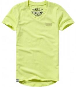 Vingino Basic T-Shirt V-Neck HELLOW soft neon yellow