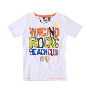 Vingino T-Shirt HUNTER real white