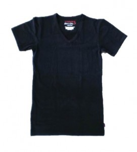 Vingino Basic-T-Shirt V-NECK black