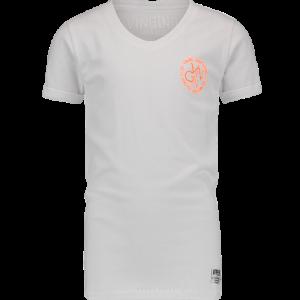 Vingino T-Shirt V-Ausschnitt HAGIOS real white