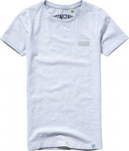 Vingino Basic T-Shirt Rundhals HAMIEL light grey mele