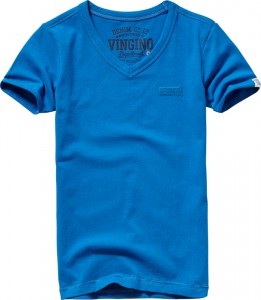 Vingino Basic T-Shirt V-Neck HARDJONO reflex blue