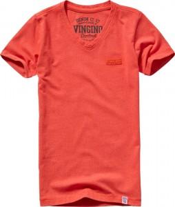 Vingino Basic T-Shirt V-Neck HAYCO orange red