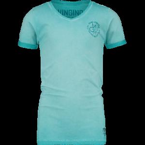 Vingino T-Shirt V-Ausschnitt HENDRIK dolphin blue