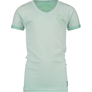 Vingino T-Shirt V-Ausschnitt HENDRIK mint green