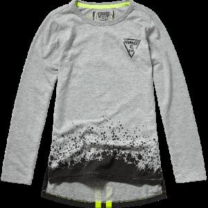 Vingino Langarm-Shirt/Longsleeve JARY grey mele