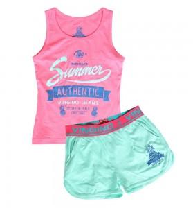 Vingino Shorty / Schlafanzug / Pyjama WONNIE rose pink