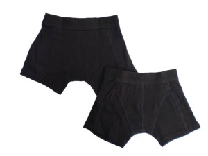 Vingino Basic Boxer/Short 2er-Pack schwarz