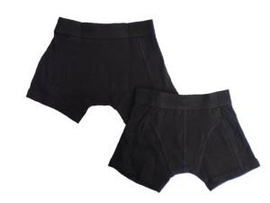 Vingino Basic Boxer/Short 2er-Pack schwarz