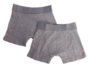 Vingino Boys Basic Boxer/Short 2er-Pack grau