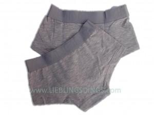 Vingino Basic Short Girls 2er-Pack grau