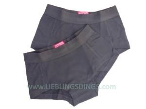 Vingino Basic Short Girls 2er-Pack schwarz
