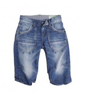 Vingino Jeans Bermuda SAUL blue denim
