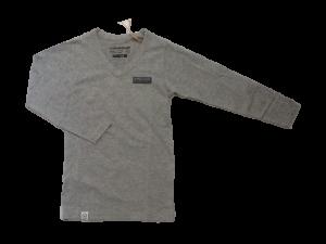 Vingino Langarm-Shirt/Longsleeve V-Neck JENS grey mele