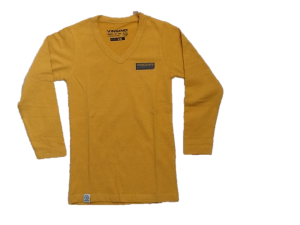 Vingino Langarm-Shirt/Longsleeve V-Neck JENS old yellow