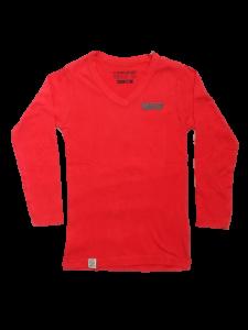 Vingino Langarm-Shirt/Longsleeve V-Neck JENS roccoco red