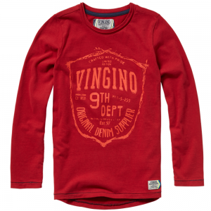 Vingino Langarm-Shirt/Longsleeve JAO buddy red